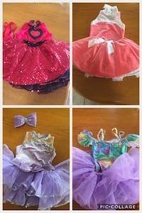 Girl's pink and purple tutu dance costume-size xsmall and small child Medicine Hat, T1C 1X2
