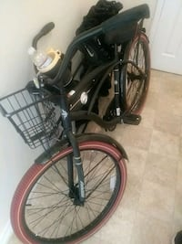 black and red cruiser bike Bladensburg, 20710