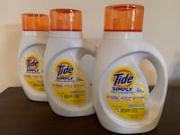 3 Tide Simply detergents  Silver Spring, 20905