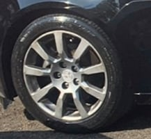 """(4) Stock Rims n Tires 18"""" from a Cadillac CTS"""