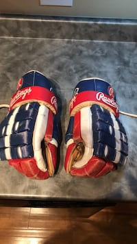 Rawlings hockey gloves