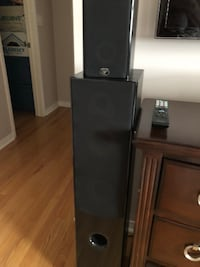 black and gray home theater system Toronto, M6A 3E7