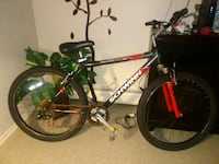 black and red Salcano hardtail mountain bike Somers Point, 08244