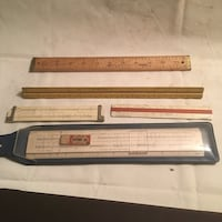 Slide rules and drafting tools Also engineering rulers Jersey City, 07307