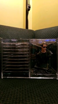 The Ultimate Matrix Collection with Keanu Reeves Statue