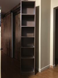 Brown wooden cabinet with shelf Milton, L9T 2G1
