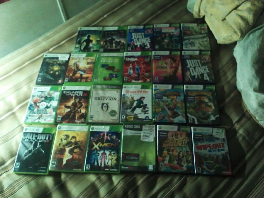 Home Alabama Sylacauga Other Assorted Xbox 360 Game Cases