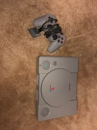 Original PlayStation. Cleaned and tested.