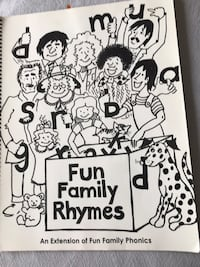 Fun family rhyme phonics by Wind & Tide preschool excellent condition