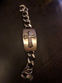 Guess Silver-colored chain link bracelet Slidell, 70458