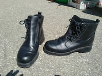 Short Black Leather Boots - woman size 7 Mississauga, L5G 1C3