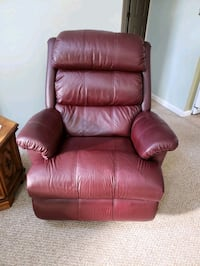 brown leather recliner sofa chair Newport News, 23602