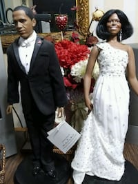 Barack and Michelle Obama Dolls Alexandria, 22306