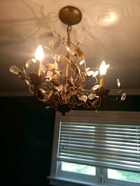 brown and white uplight chandelier Englewood, 80113
