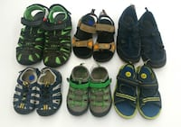(14) Boys' Sandals from $5 Etobicoke