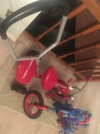 Toddler's red and white radio flyer trike Springfield, 22153