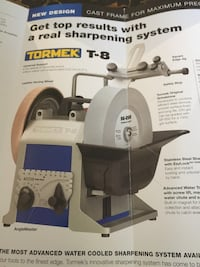wanted Tormek sharpener.  Please respond with what model you have Madison Heights