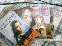 Lot de 4 livres de poche heartland Saint-Domineuc, 35190
