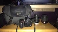 CAMERA-Nikon D3300 with 18x55mm and 55x200mm lens, GREAT CONDITION Sunapee, 03782