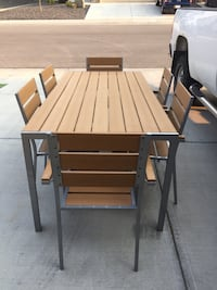 Outdoor 7 Piece Dining Set Airdrie, T4B 3W3