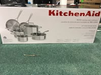 KitchenAid Tri Ply Stainless steel cookware.  Vaughan, L4J 7T8