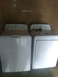 white washer and dryer set Little Rock, 72209
