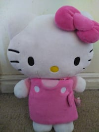 Hello Kitty and attached soft book