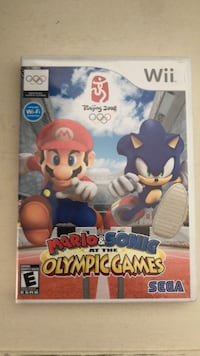 Mario & Sonic Olympic Games for wii Calgary, T3R 1K8