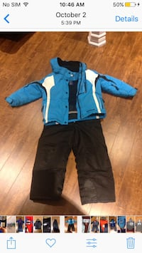 Snowsuit boys size 6/7