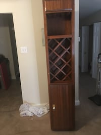 Wine and glass stand