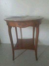 brown wooden side table with drawer Dartmouth, B2Y