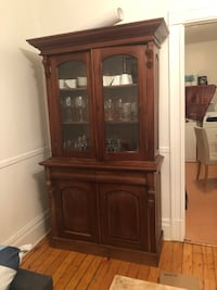 Wood 2 piece set (bar, chest, cupboard) Montréal, H4C 2W2