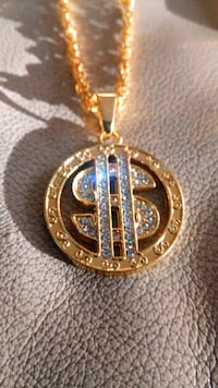 Gold plated with diamonds Calgary, T3L 2M7