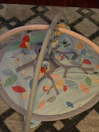 Skip Hop Baby Treetop Friends Activity Gym/Playmat, Grey Pastel Great condition. No rips, stains, etc. $35 Norfolk, 23511