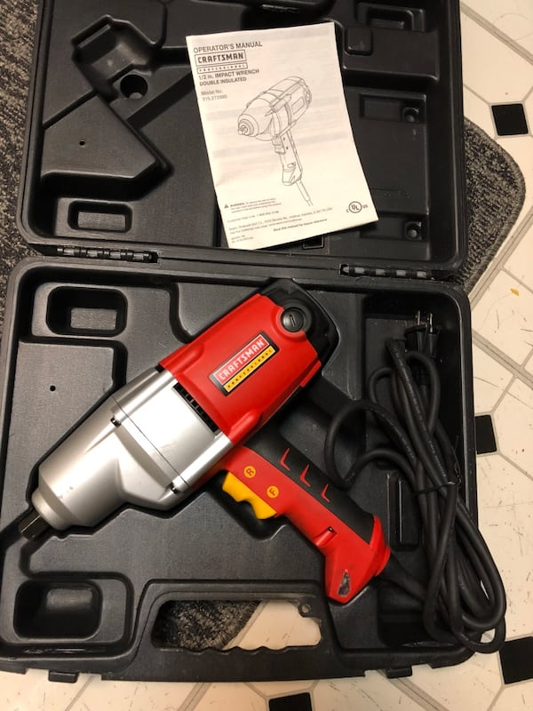CRAFMAN PROFESSIONAL IMPACT WRENCH 2