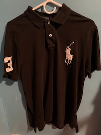 Polo Black Shirt Size L New Carrollton, 20784