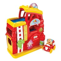 FISHER-PRICE LAUGH & LEARN MONKEY'S SMART STAGES FIREHOUSE Richmond Hill