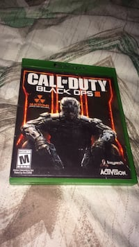 Xbox one call of duty black ops iii case Cleveland, 44105