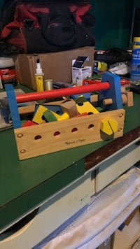 Toy wooden tools  1027 mi