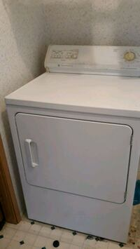 white front-load clothes dryer Pulaski, 16143