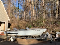 '77 Evinrude 55 hp outboard motor, 18 ft aluminum boat Gainesville, 30501
