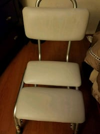 white leather padded bar seat Upper Marlboro, 20772