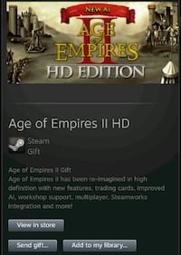 Age of empires 2 HD edition New Westminster, V3M 1L5
