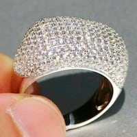 New Diamond Micro-Pave Cocktail/Engagement Ring