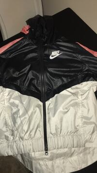 black and white Nike zip-up jacket Dartmouth, B2Y 3W6