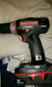 black and red Craftsman cordless power drill Chicago Ridge, 60415