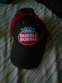 black and red Dubble Bubble fitted cap Oil City, 16301