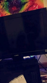black Sony flat screen TV Peoria, 61603