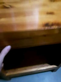 HAND CRAFTED Pine wood nightstands Thunder Bay, P7C 2C4