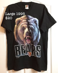 1995 Chicago bears size xl t shirt New Westminster, V3M 1B9